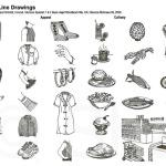 McGraw Hill Line Drawings